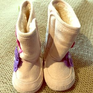 Other - Faux sheepskin baby boots size 12-18 month